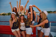 Bachelorette Party on Uncle Sams Boat Cruise in Alex Bay, NY 5