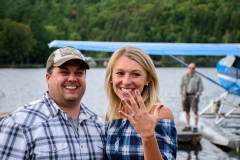 Engagement proposal captured in Inlet, NY 11