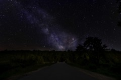 Milkyway over Green Bridge in Thendara, NY