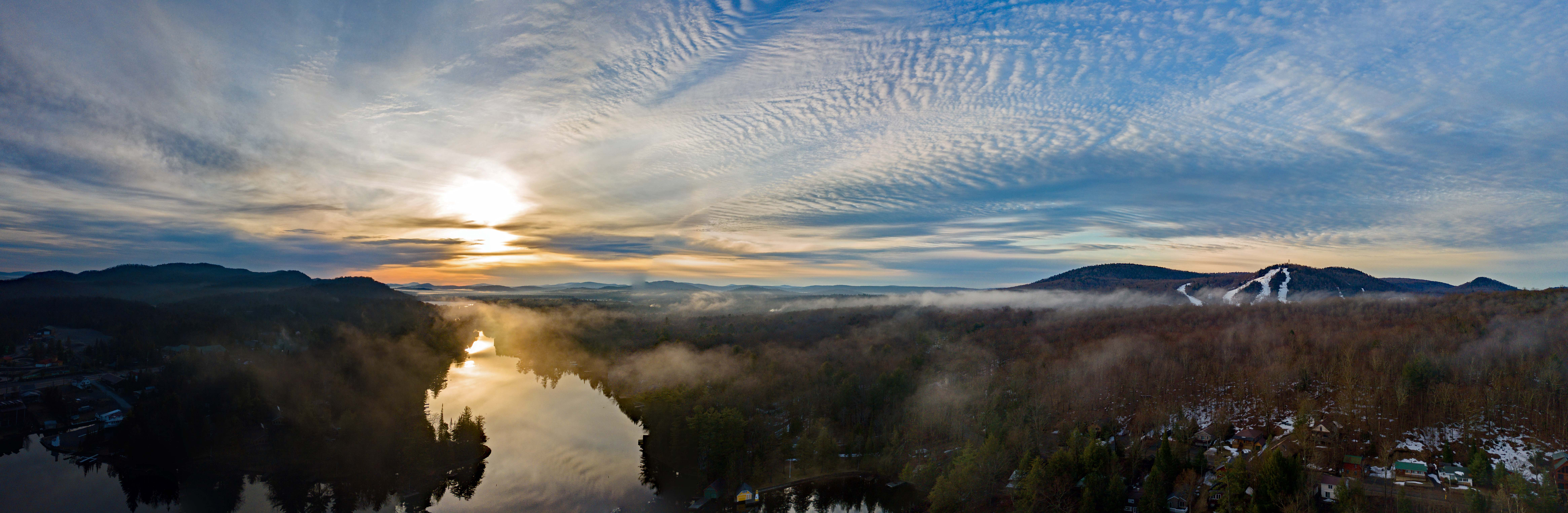 Old Forge Pond Panorama