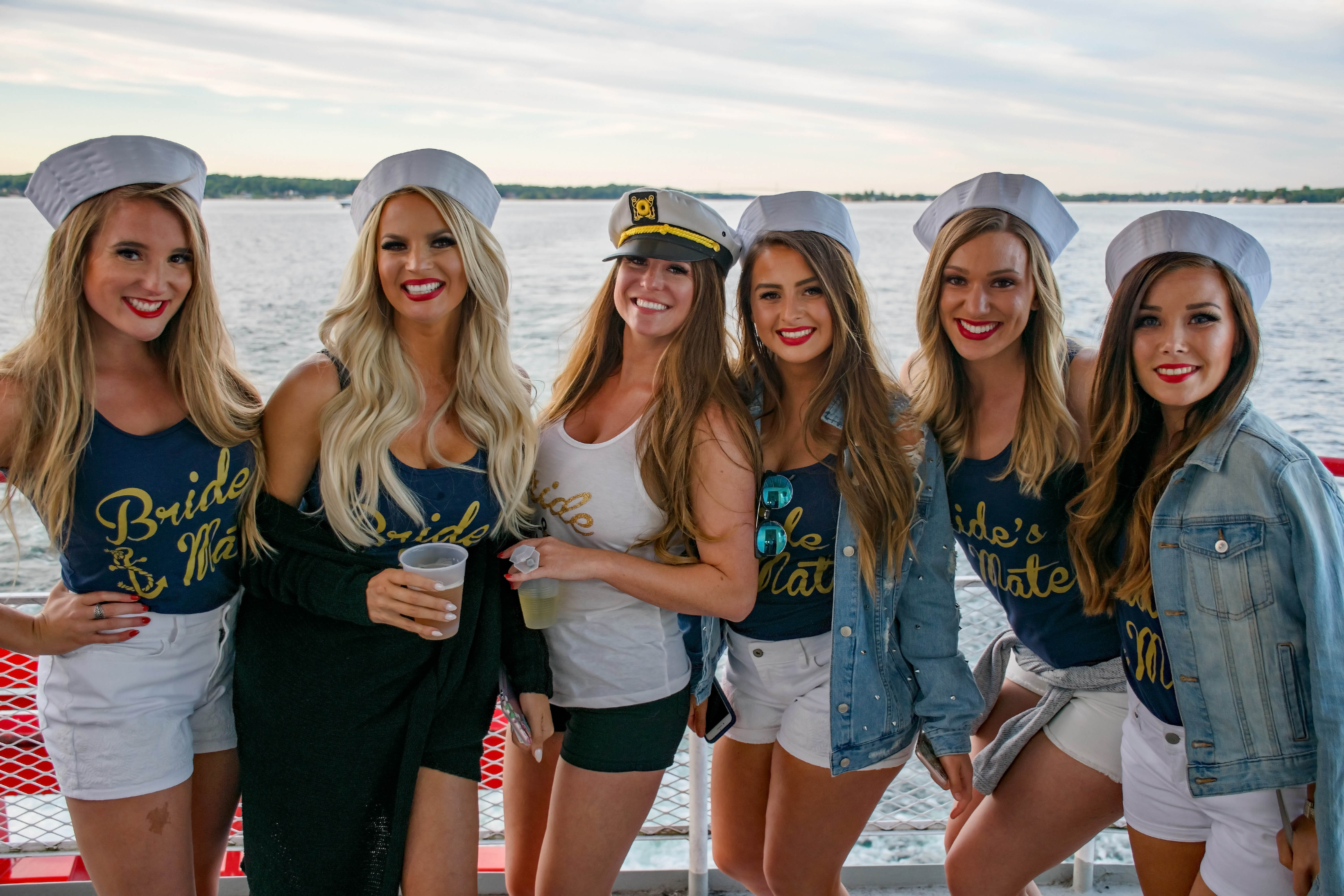 Bachelorette Party on Uncle Sams Boat Cruise in Alex Bay, NY 2