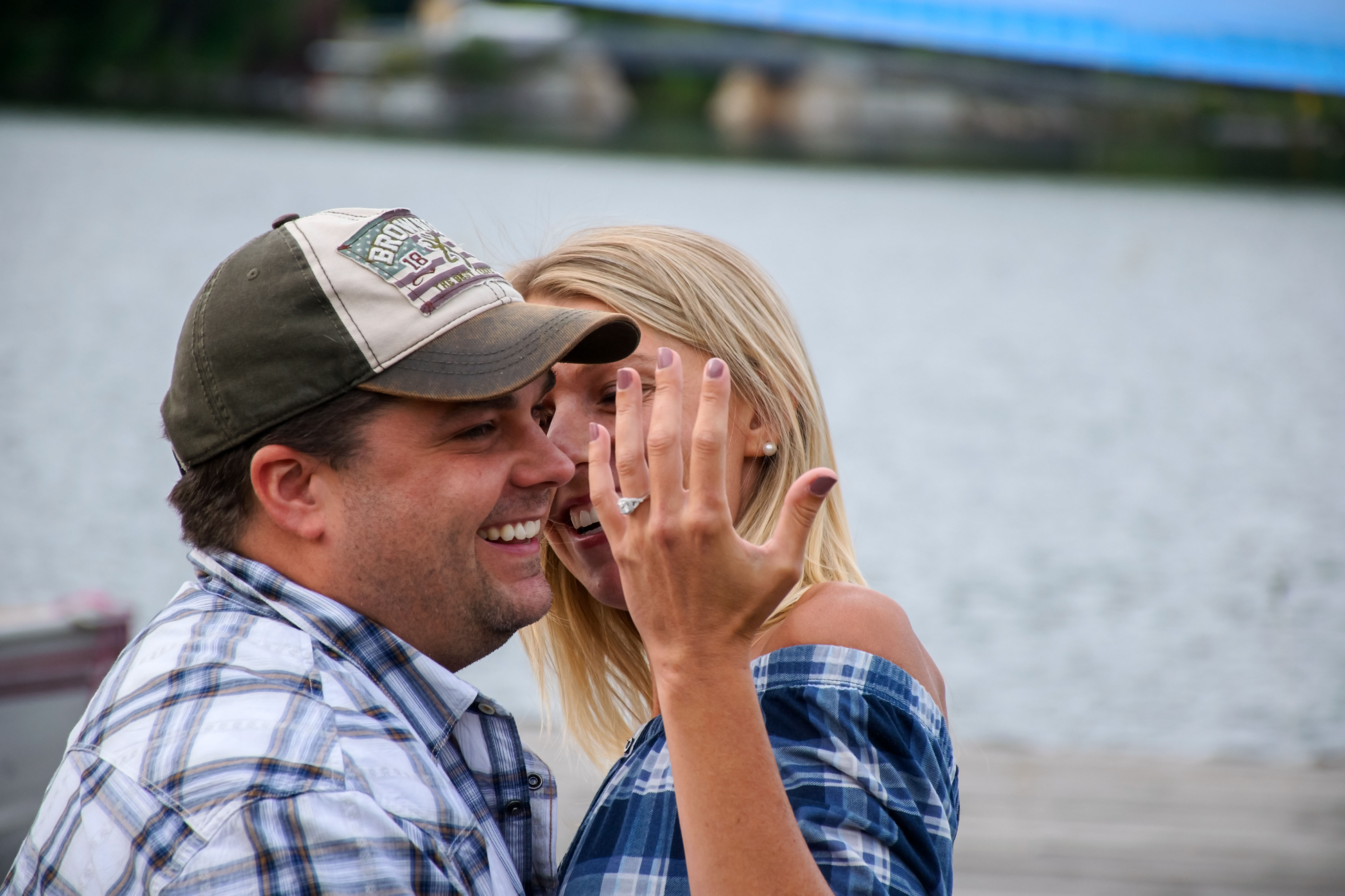 Engagement proposal captured in Inlet, NY 10