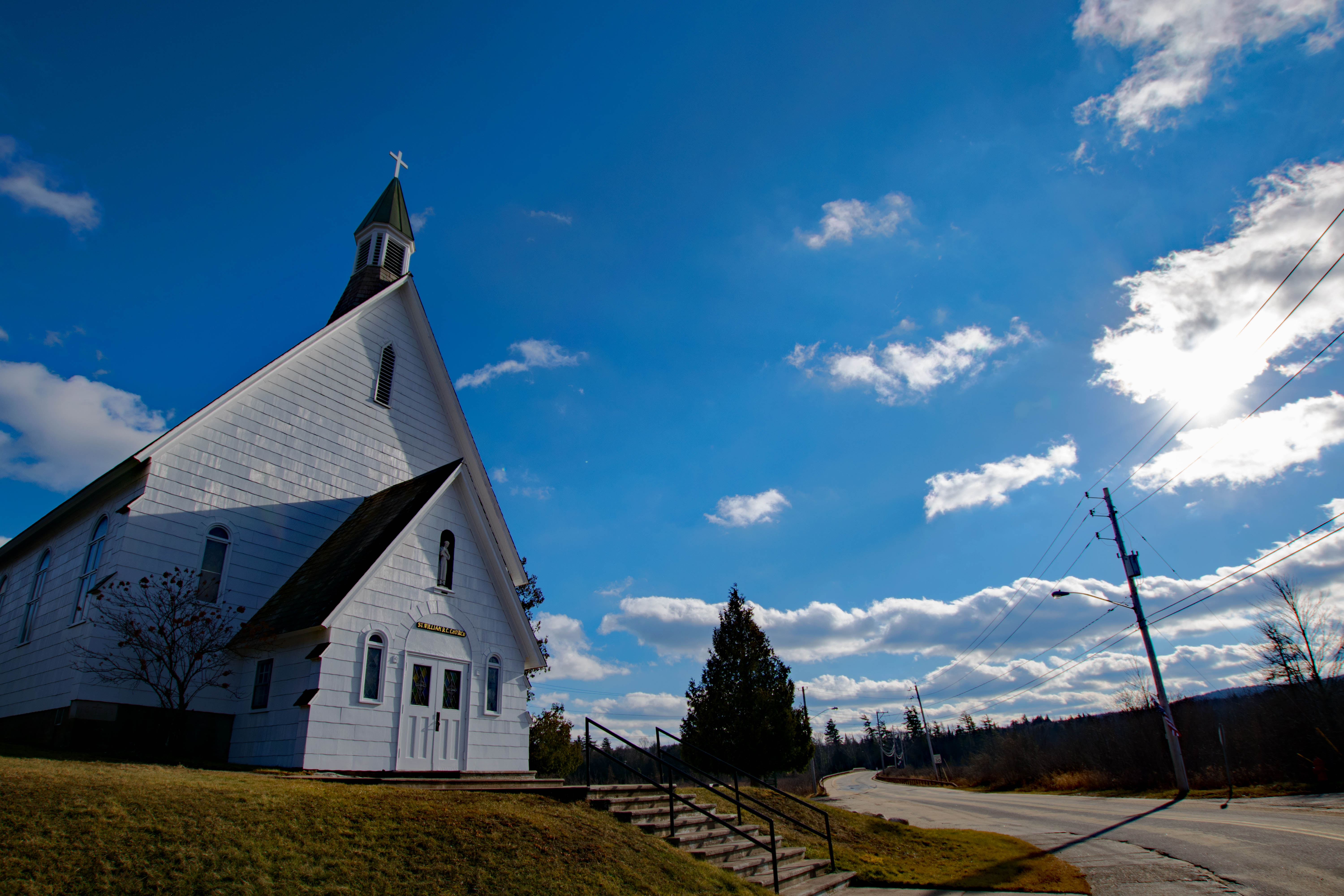 Church in Raquette Lake, NY
